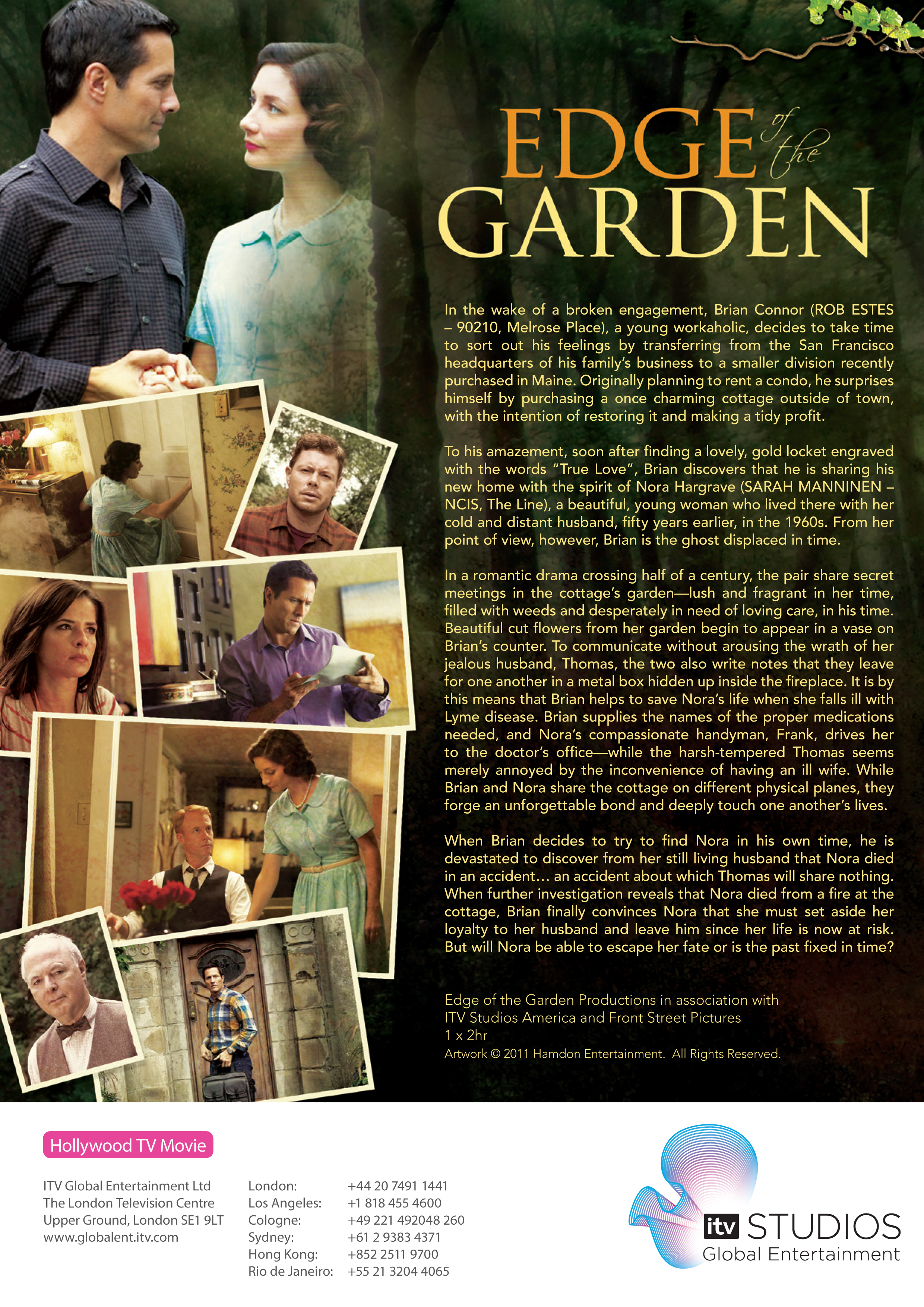 The Illusion Factory produced the campaign for Edge of the Garden